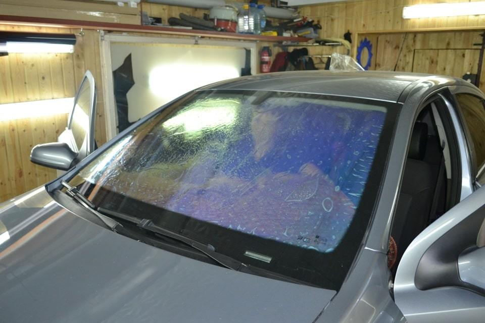 фото атермальная тонировка авто в воронеже