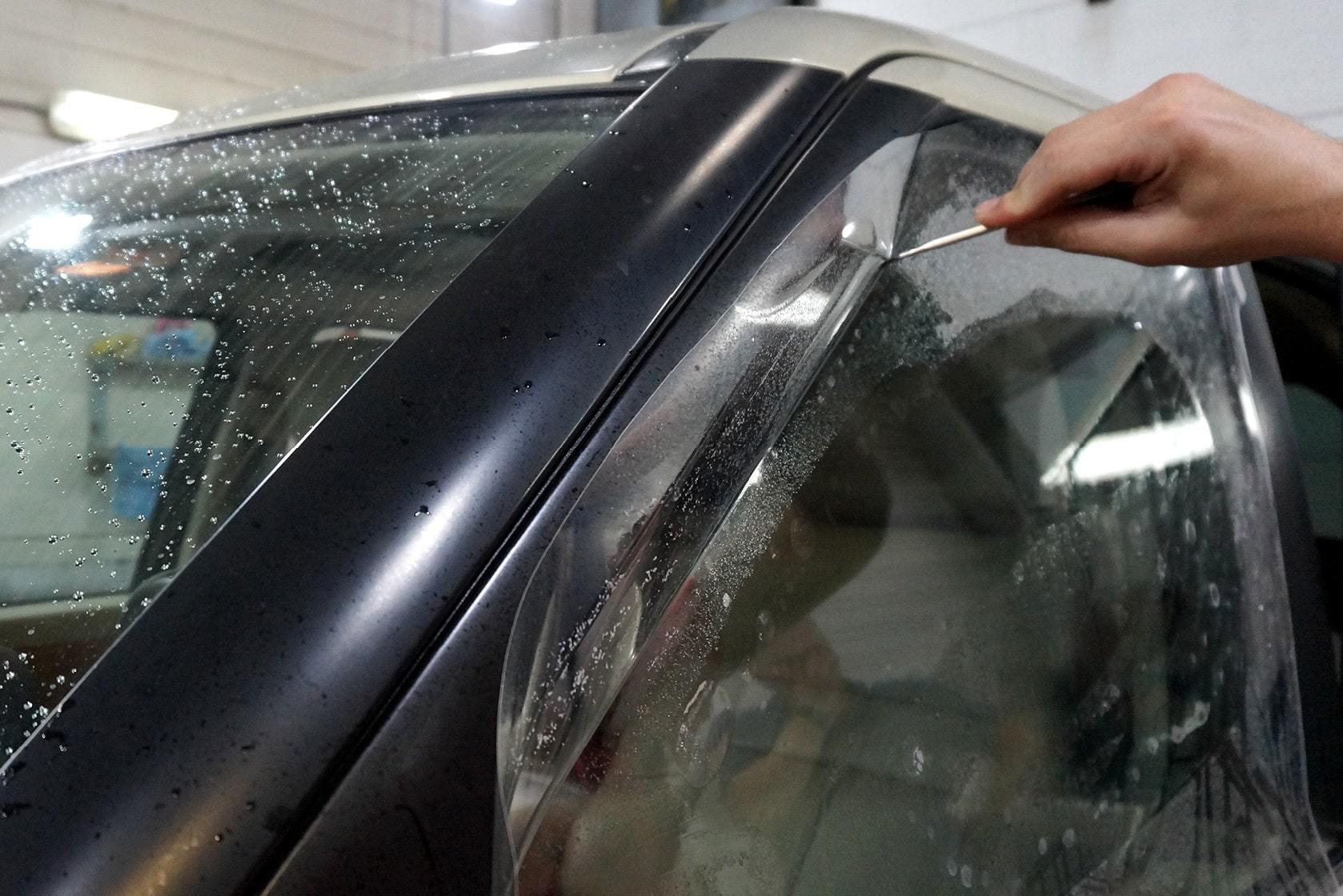 фото бронирование стекол авто в воронеже